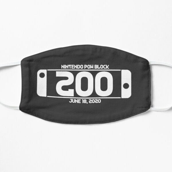 Nintendo Pow Block Episode 200 White Mask