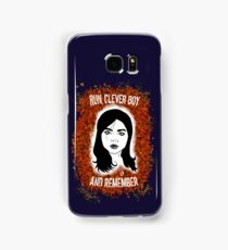 Clara Oswin Oswald Samsung Galaxy Case/Skin