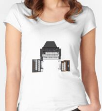 Vintage Synthesizers / Keyboards Women's Fitted Scoop T-Shirt