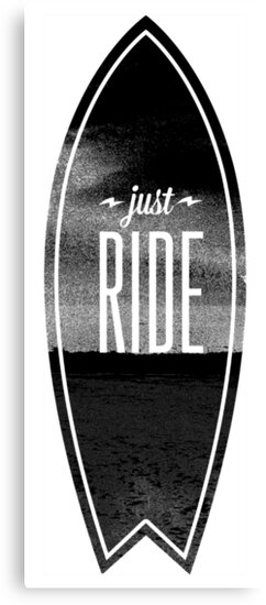 Just Ride - Surfer Style Motive by Sebastian Stadler