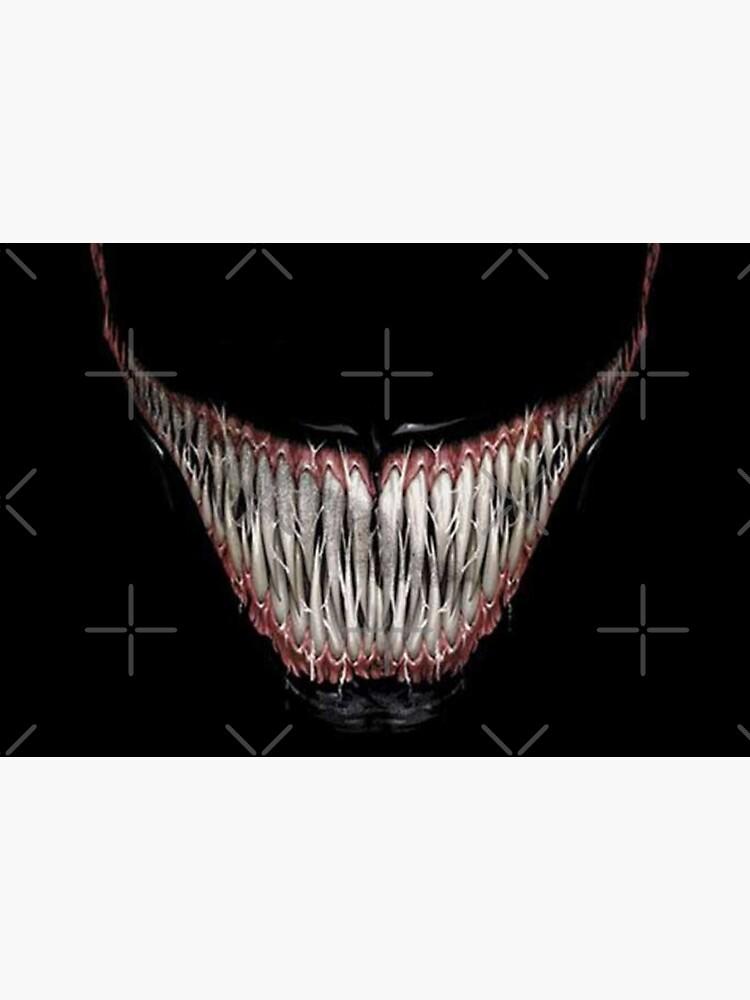 Venom's smile by illuminatipower