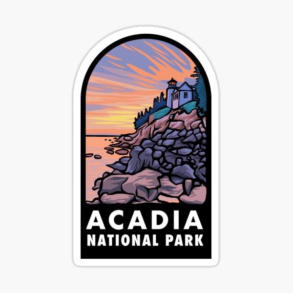 Acadia National Park Badge Sticker