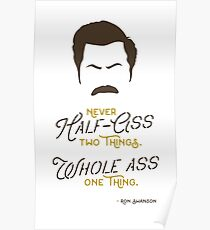 Pawnee's Finest Poster