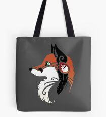 Spirit Animal: Red Fox Tote Bag