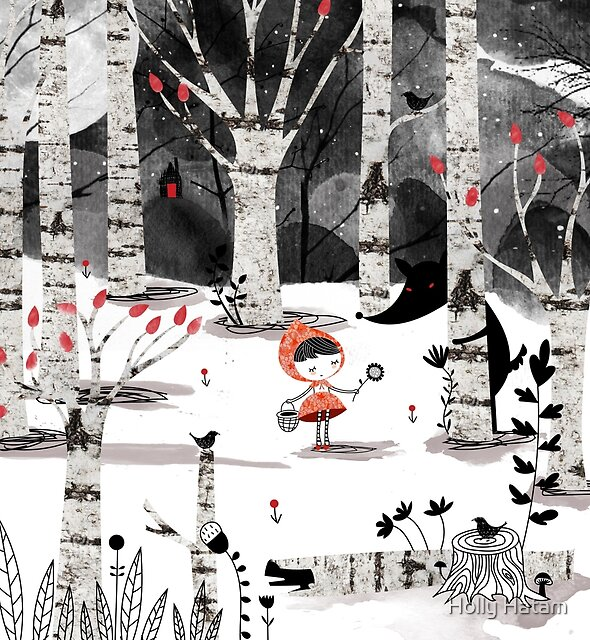 Who's Afraid of the Big Bad Wolf?! by Holly Hatam