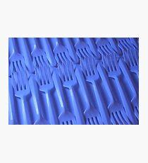 Plastic fork blues- ISO 6400 Photographic Print