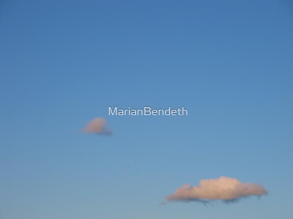 Island clouds by MarianBendeth