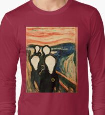 Wu Scream - www.art-customized.com Long Sleeve T-Shirt