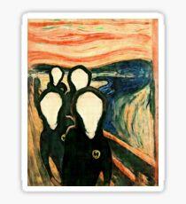 Pegatina Wu Scream - www.art-customized.com