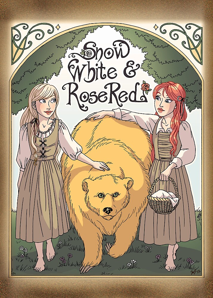 Snow White & Rose Red by Melissa Zayas