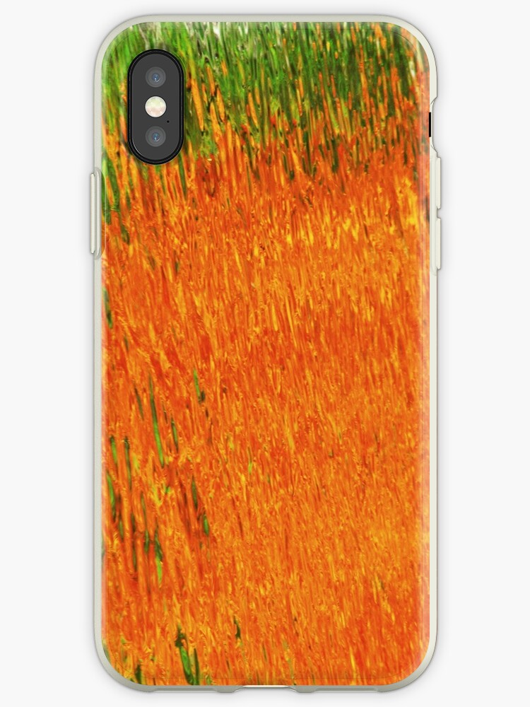 Flames~ iPhone Case by Jeananne  Martin