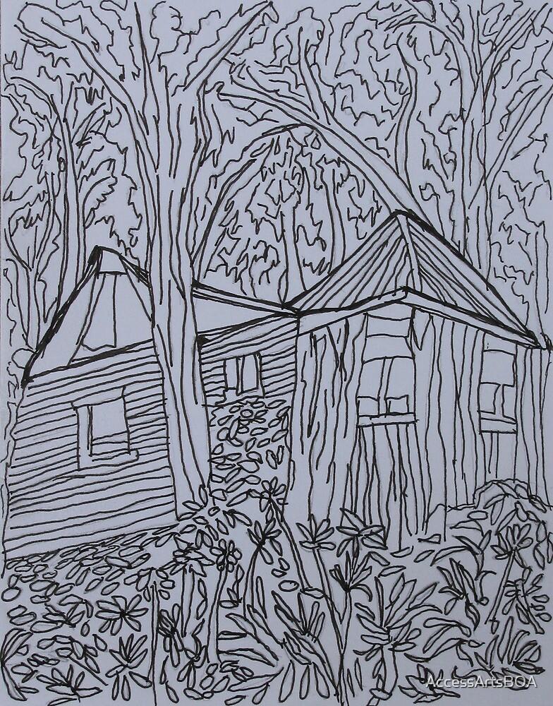 Dion Halse 'House Amongst the Trees' by AccessArtsBOA