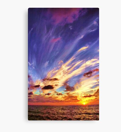 Blown Away Canvas Print