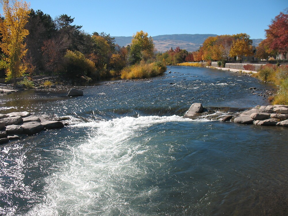 Truckee River-Reno by ROB HUGHES