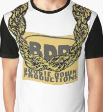 Old School Gold Rope Chain and classic logo 3 - www.art-customized.com Graphic T-Shirt