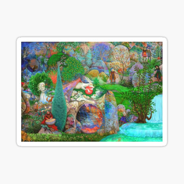 The Garden of Delights Sticker