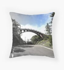 Interesting Bridge Throw Pillow