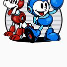 Mega Pals by harebrained