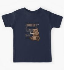 Coffee Bear Kids Clothes