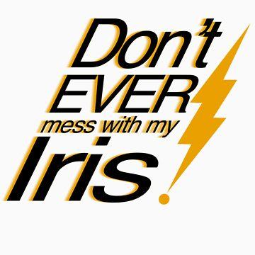 My Iris by dorknight