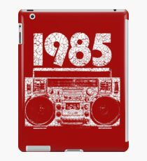 1985 Boombox Distressed Graphic iPad Case/Skin
