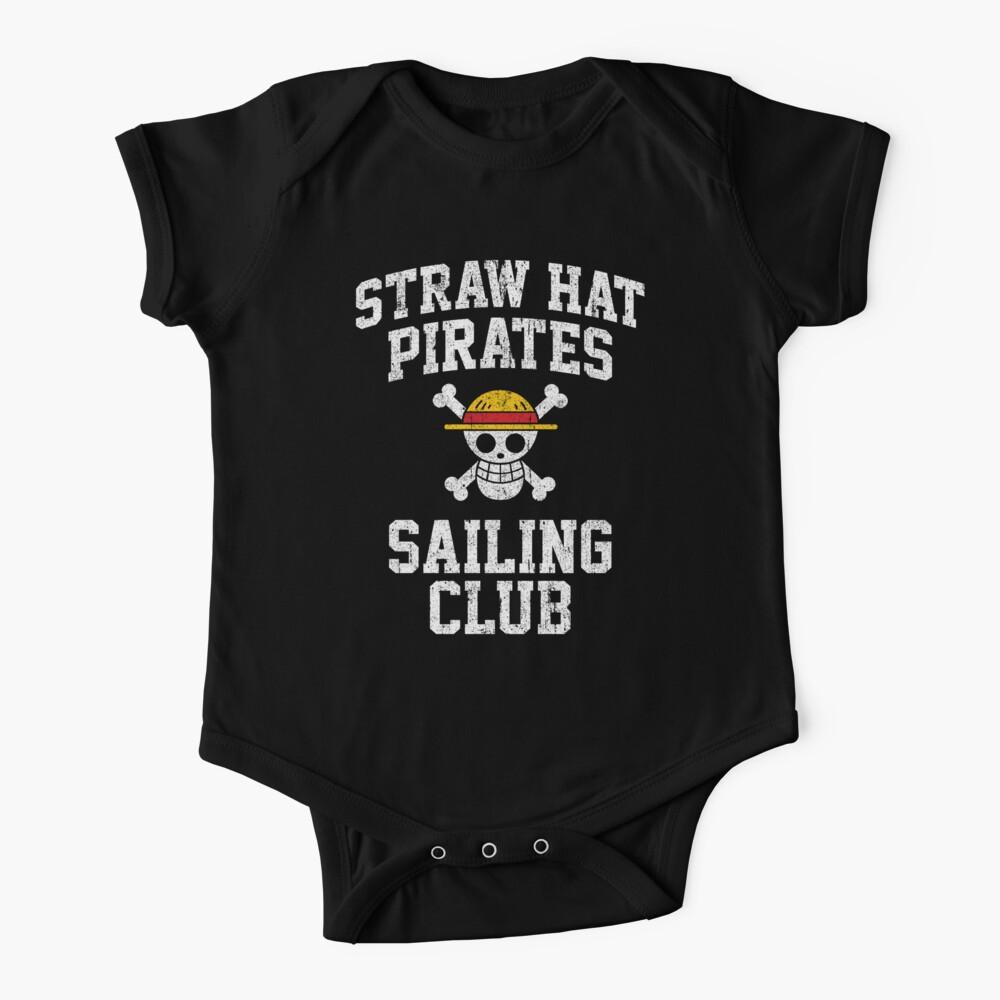 Straw Hat Pirates Sailing Club Baby One-Piece