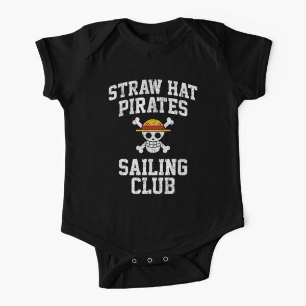 Straw Hat Pirates Sailing Club Short Sleeve Baby One-Piece