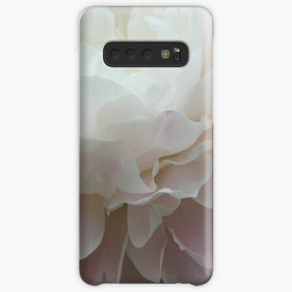 White Peony Photography Samsung Galaxy Snap Case