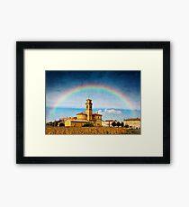 Rainbow of Faith Framed Print
