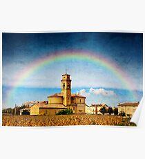 Rainbow of Faith Poster