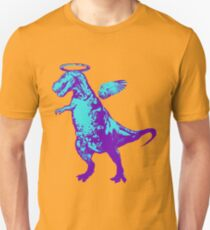 Angel Rex (purple and aqua) Unisex T-Shirt