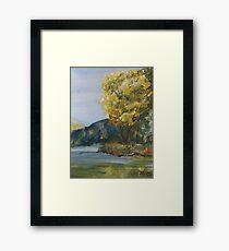 September Tree Framed Print