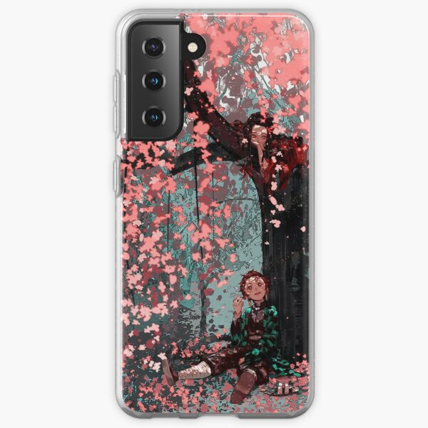 Nezuko Tanjirou - Demon Slayer Samsung Galaxy Soft Case