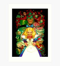 Hello Alice Art Print