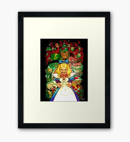 Hello Alice Framed Print