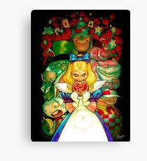 Hello Alice Canvas Print