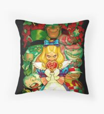 Hello Alice Throw Pillow