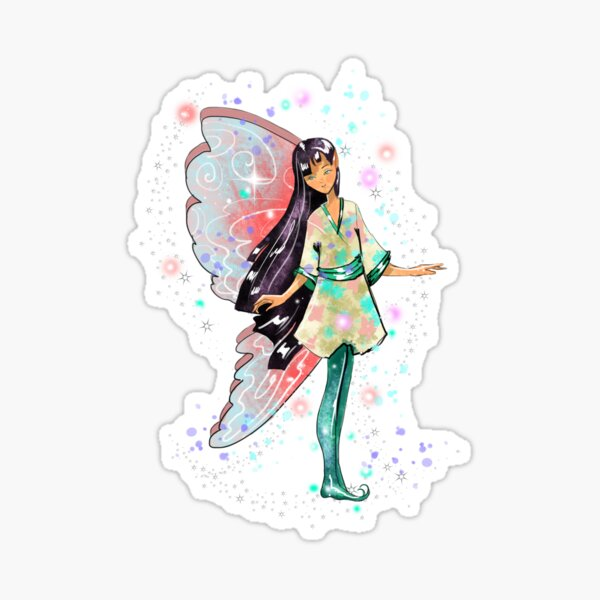Amaya The Asian Inspired Fairy™ Sticker