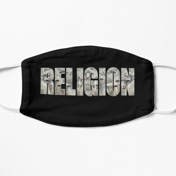 RELIGION - a flock of sheep  Mask