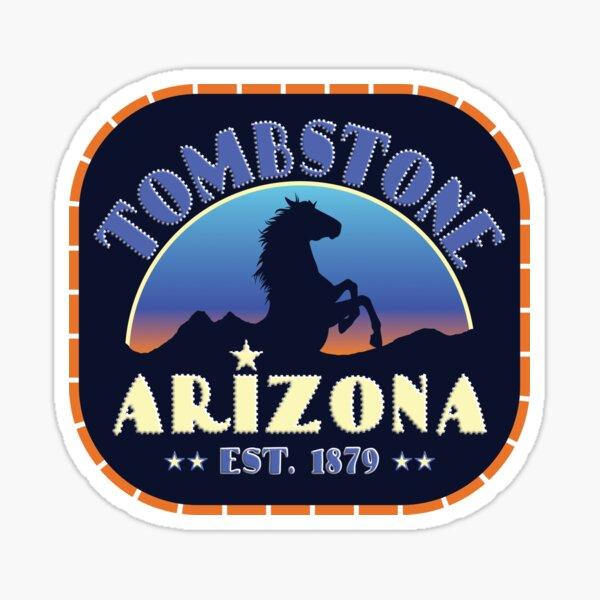 Tombstone Arizona 1879 Sticker