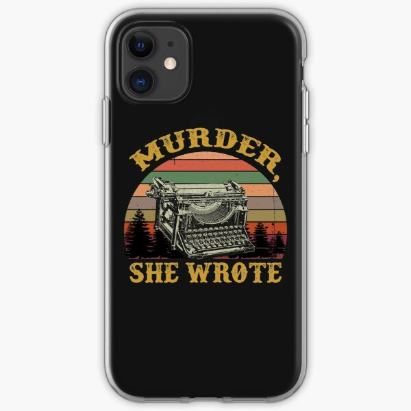 I Jessica Murder She Wrote T-Shirt iPhone Soft Case