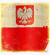 Poland flag Poster