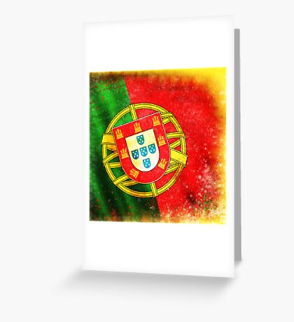 portugal flag Greeting Card