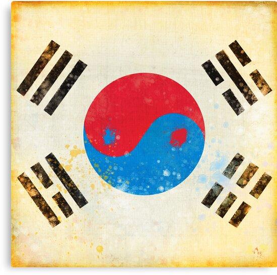 south Korea flag by naphotos