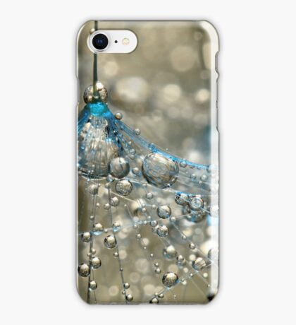 Cyan & Gold iPhone Case/Skin