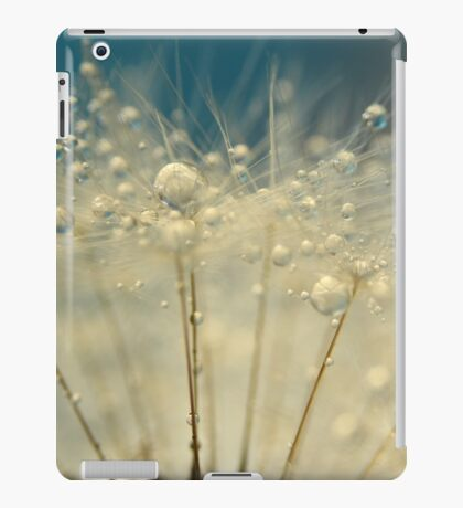 Dandelion with Blue iPad Case/Skin
