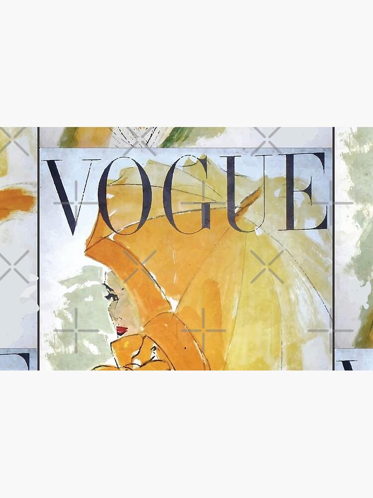 Vogue Vintage Woman Canvas by apoorvpatel