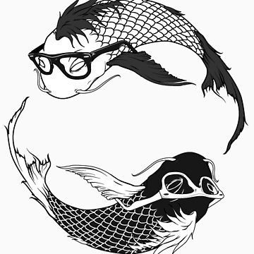 Hipster Koi by conspire28