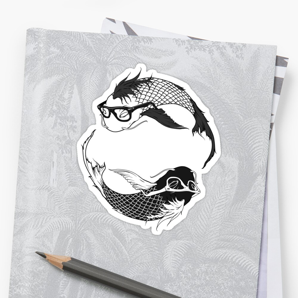 Hipster Koi by Joey Klarenbeek