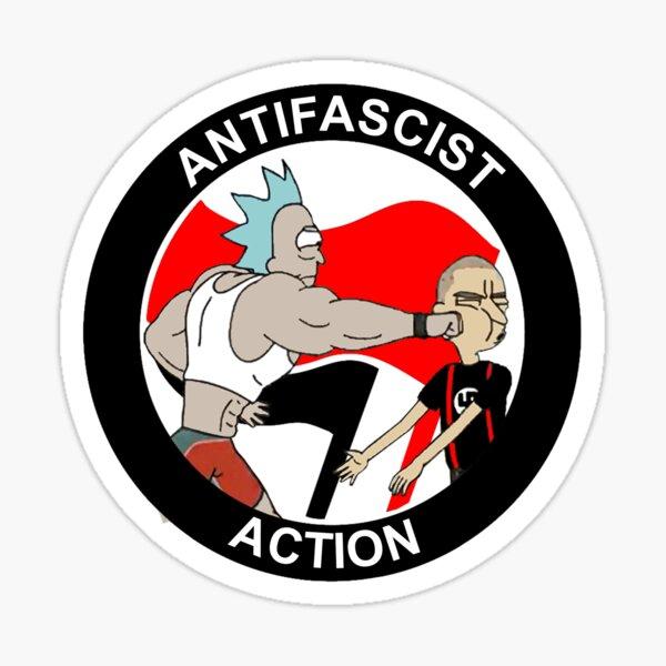 Antifa Pegatina
